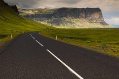 Rota 1 em Islândia do sul Imagem de Stock
