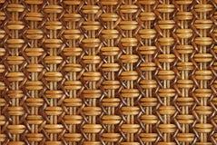 Rota tejida con los modelos naturales Imágenes de archivo libres de regalías