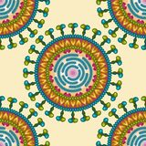 Rota virus. Seamless pattern. Eps 10. Royalty Free Stock Image