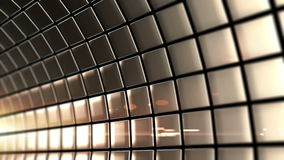 Rotación colocada túnel de oro almacen de video