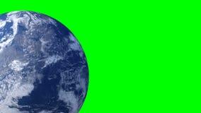 Rotación de la tierra del planeta ilustración del vector