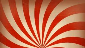 Rotación del fondo del marco del carnaval del circo ilustración del vector