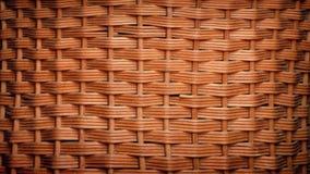 Rotación tejida de la cesta almacen de metraje de vídeo