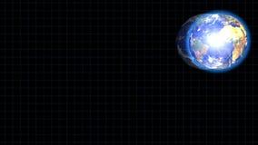 Rotación y mapas de la tierra del planeta libre illustration
