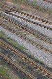 Rotaie della ferrovia immagini stock libere da diritti