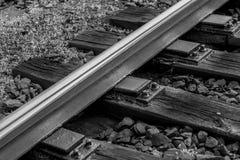 Rotaie ferroviarie Fotografie Stock