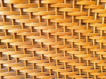 Rotan achtergrond met de hand gemaakt textuurweefsel, Stock Afbeelding