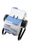 Rotary Card Index Stock Images