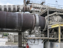 Rotary Cement Kiln Royalty Free Stock Image