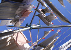 Free Rotary Clothes Drier Stock Photos - 4166323