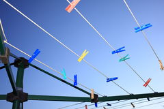 Free Rotary Clothes Dryer Detail Stock Photos - 51340323