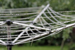 Rotary clothes line Royalty Free Stock Image