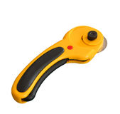 Rotary cutter. Isolated with a clipping path on a white background Royalty Free Stock Photo