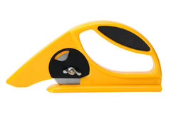 Rotary Cutter for fabric and textile. Rotary Cutter for fabric, textile, cover Stock Photo
