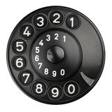 Rotary dial Royalty Free Stock Photos