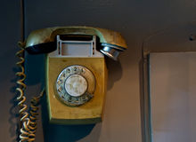 Rotary Dial Telephone Royalty Free Stock Photo