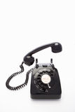 A rotary dial telephone royalty free stock image