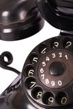 Rotary Dial of Vintage Phone Royalty Free Stock Photo