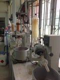 Rotary evaporator. The image of old rotary evaporator in laboratory Stock Photos