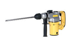 Rotary hammer Royalty Free Stock Photos