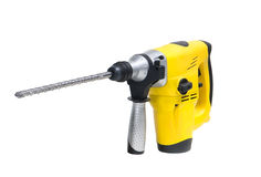 Rotary hammer Stock Photo