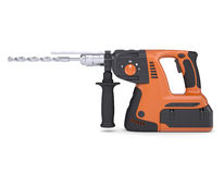 Rotary hammer Royalty Free Stock Photography