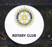 Rotary International-Clubembleem royalty-vrije stock foto's