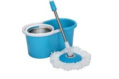 Rotary mop bucket Stock Image