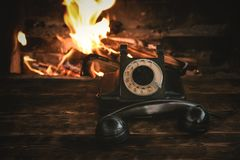 Free Rotary Phone. Royalty Free Stock Photography - 147258437