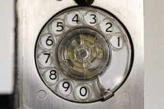 Rotary phone on Battleship Wisconsin Royalty Free Stock Photos