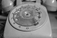 The rotary phone Royalty Free Stock Image