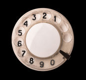 Rotary phone dial Royalty Free Stock Photography