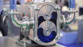 Rotary pumps close up process