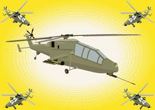 Rotary-wing warrior Stock Photography