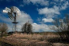 Rotary Wing. Windmill Generator on Ruegen Island, Germany Royalty Free Stock Photography