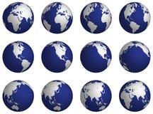 Rotate_globe Foto de Stock