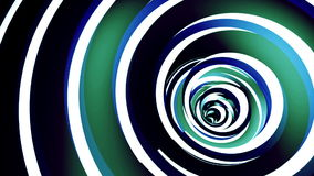 Rotated twisted red tunnel. Loop animation stock video footage