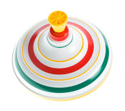Rotated whirligig top isolated Stock Image
