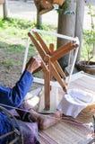 Rotatie katoenen draad Stock Fotografie