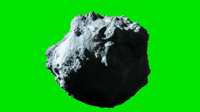 Asteroid Green Screen Animation Stock Footage - Video of