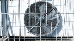 Rotating blades of conditioner. Outdoor stock video footage
