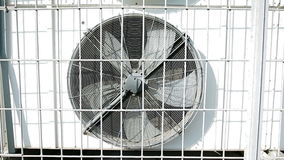 Rotating blades of conditioner stock video