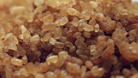 Rotating brown sugar stock video footage