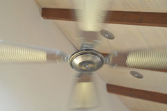 Rotating ceiling fan Royalty Free Stock Image