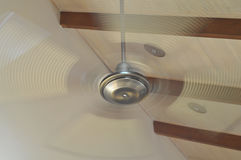 Rotating ceiling fan Royalty Free Stock Photography