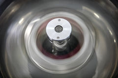 The rotating centrifuge. Detailed view of the rotating centrifuge Stock Photos