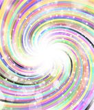 Rotating color radial rays Royalty Free Stock Images
