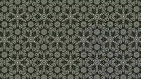 Rotating geometric shapes generating optical illusion of depth