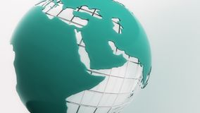 Rotating globe. Seamless loop. Rotating globe. Seamless looping 4K stock footage