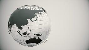 Rotating globe. Seamless loop. Rotating globe. Seamless looping 4K stock video footage
